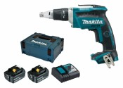 Makita DFS452RTJ 2x 5Ah Batteria + Caricabatterie