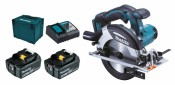 Makita DHS630RTJ 2x 5Ah Batteria + Caricabatterie